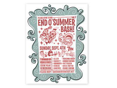 end of summer party invitations koni polycode co
